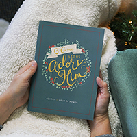 Advent Book O Come Let Us Adore Him