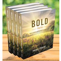 4 Bold Faith Devotionals