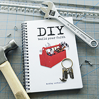 DIY Build Your Faith Book & Keychain Combo