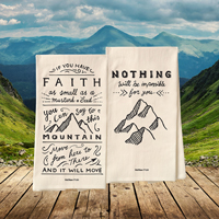 Bold Faith Tea Towel Set