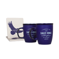 Eagles' Wings Mug & Coaster Set