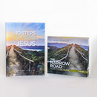 10 Steps & Narrow Road Book/CD Set