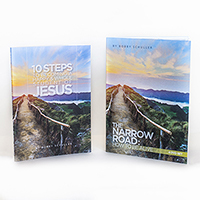 10 Steps & Narrow Road Book/DVD Set