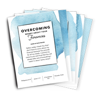 Overcome Worry 5-Card Set