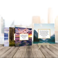 Perfect Peace Scripture Cards w/ Easel