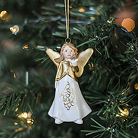 2016 Faith Angel Ornament