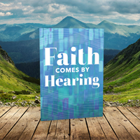 Faith Comes By Hearing Booklet