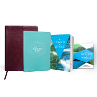 Be Healed, Be Whole Collection w/ Journal & NIV Thinline Bible