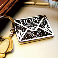 Hope Delivers Key Chain