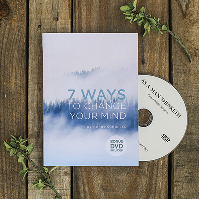 7 Ways to Change Your Mind Book w/ Bonus DVD