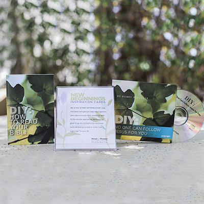 DIY Book & DIY 4CD Set & New Beginning Cards Combo